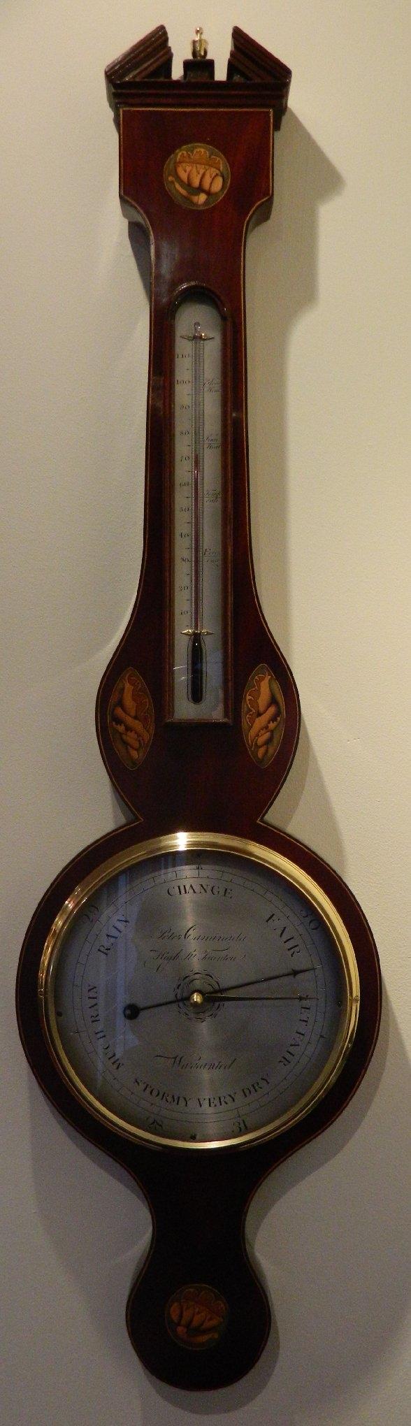 Shell barometer